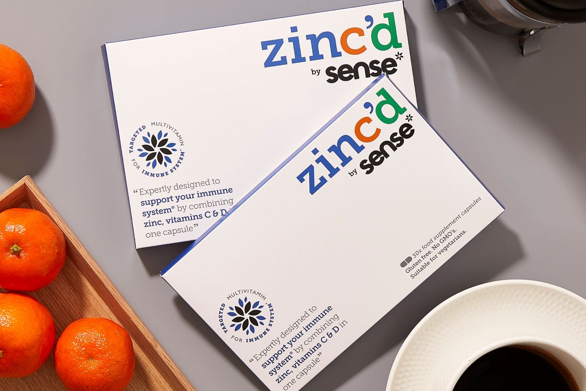 zinc'd by sense*